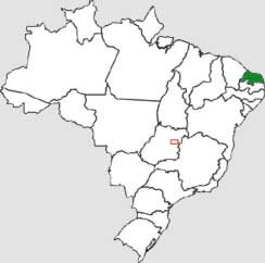 Mapa do Rio Grande do Norte